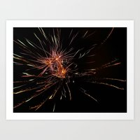 Fireworks4 Art Print