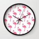 American Flamingo (pink) Wall Clock