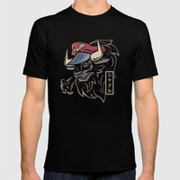 Master Bison Mens Fitted Tee Black SMALL