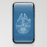 Millennium Falcon iPhone & iPod Skin