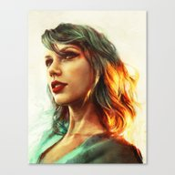 Canvas Print featuring When The Sun Came Up by Alice X. Zhang