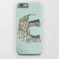 Elephant Paper Collage I… iPhone 6 Slim Case