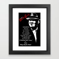 Im your Uncle Buck Framed Art Print