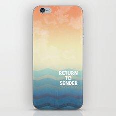 Return to Sender iPhone & iPod Skin