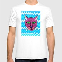 Koolkat Mens Fitted Tee White SMALL