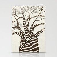 Zebra Tree Stationery Cards