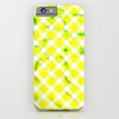 Lattice Lime Slim Case iPhone 6s