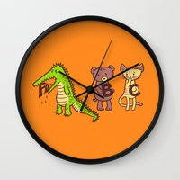 A is for Jerks! Wall Clock