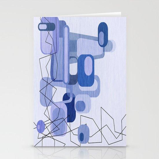 Feeling Blue. Stationery Card