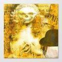 Gwendoline, belle soeur de Monsieur Bone Canvas Print