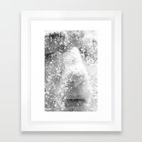 Flour girl Framed Art Print