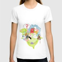 Wild life Womens Fitted Tee White SMALL