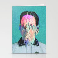Stationery Cards featuring The Outsider by Tyler Spangler