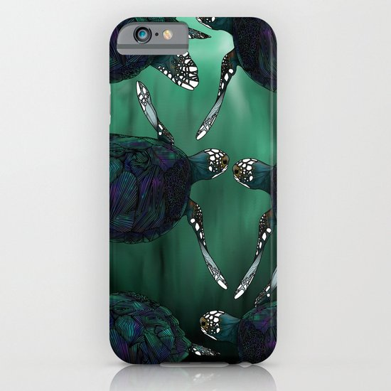 Sea Turtle iPhone & iPod Case