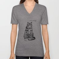 Unisex V-Neck featuring I'm A Delight by Rubyetc