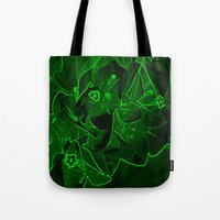 Ali - green Tote Bag