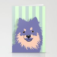 Olie The Pomeranian In P… Stationery Cards