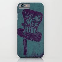 iPhone & iPod Case featuring Alice in Wonderland by Drew Wallace