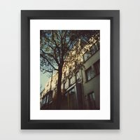 Here was a place Framed Art Print