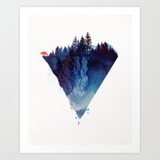 Near to the edge Art Print