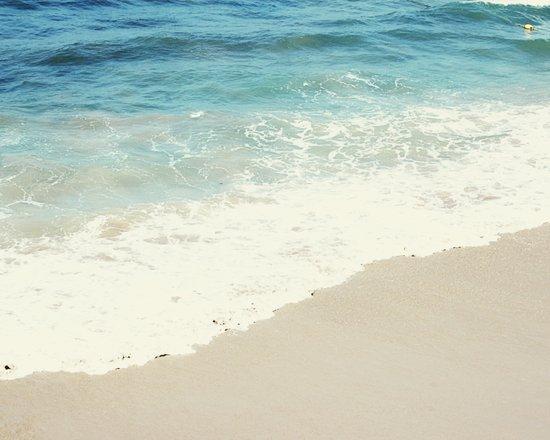 The Blue Ocean Art Print