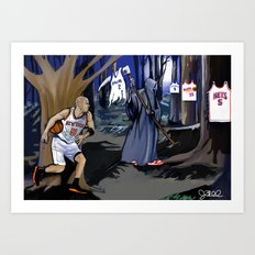 Jason Kidd cheating basketball death Art Print