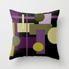 Abstract Geometric #1 Throw Pillow