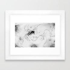 B33-DR34M5 (Bee Dreams) Framed Art Print