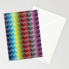 Hexagon Shades / Pattern #6 Stationery Cards