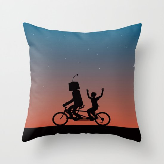 Before They Were Our Enemies, They Were Our Best Friends Throw Pillow