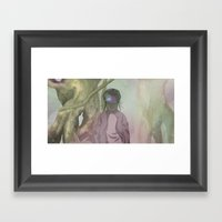 CRIKCET MIND O1 Framed Art Print