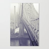 59th Street Bridge... Canvas Print