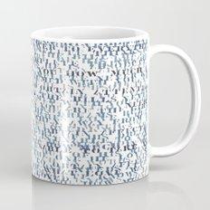 Sentences of Love Mug