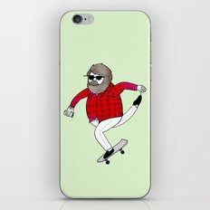 On how to overcome certain obstacles while skateboarding iPhone & iPod Skin