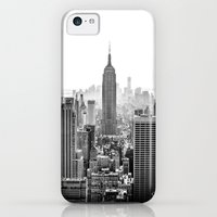 iPhone 5c Cases featuring New York City by Studio Laura Campanella