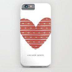 CORAZON (rojo) iPhone 6 Slim Case
