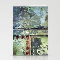 Steel Grunge Stationery Cards