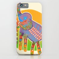 The Quilted Jungle iPhone 6 Slim Case