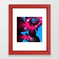 Cherry Twist Framed Art Print