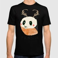 PANDEER :D Mens Fitted Tee Black SMALL