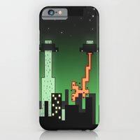 iPhone & iPod Case featuring Suprise Arrival From An Unknown Planet! by Logan Schraeder