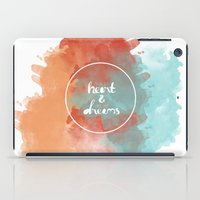 Follow Your Heart & Chase Your Dreams  iPad Case