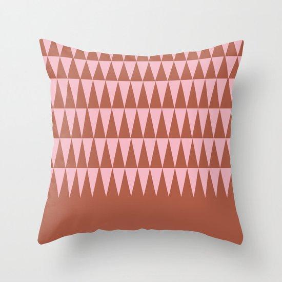 Dusk Forest Throw Pillow