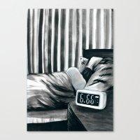 6.66 AM Canvas Print