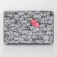 Word 2 The Herd V1 iPad Case