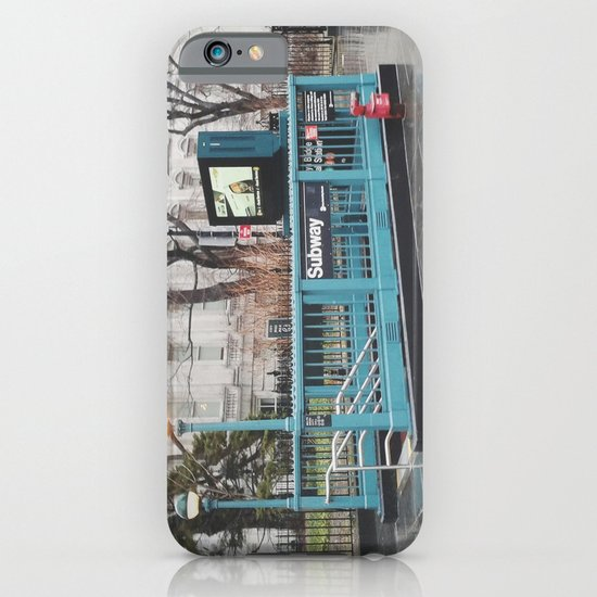 Brooklyn Bridge - City Hall Subway iPhone & iPod Case