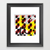 Thought I Was A Spacema… Framed Art Print