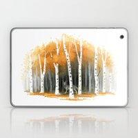 Autumn Wolf Laptop & iPad Skin