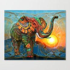 Elephant's Dream Canvas Print