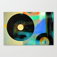 Nothing Sounds Like Vinyl Canvas Print
